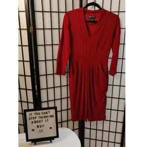 Jones New York Red Dress